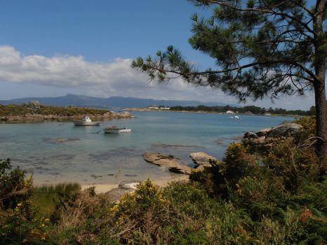 Beautiful Galician coast