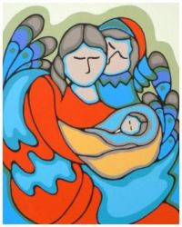New Love ~ Daphne Odjig (Ojibwa)