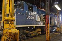 Lake States Railroad ALCOHOL M420 3504(ex CNR) Saginaw, Michigan