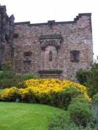 In Edinburgh Castle
