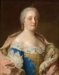 1743-45 Maria Theresia van Oostenrijk by Jean-Étienne Liotard