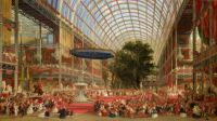 David Roberts (Scottish, 1796–1864), The Inauguration of the Great Exhibition, 1 May 1851