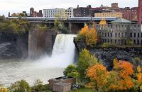 High Falls In Rochester,NY
