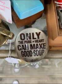 Only the pure of heart