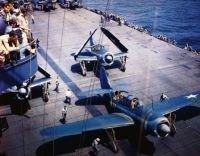 WWII carrier deck