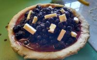 Black 'n Blue Pie filling...Blackberries and Blueberries