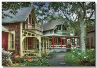 Gingerbread Cottages ~ Martha's Vineyard