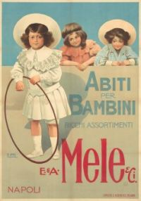 Themes Vintage ads - Mele Children fashion