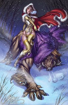 j scott campbell - beauty and the beast