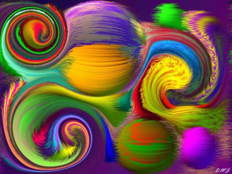Swirling into a wonderful weekend :)) I
