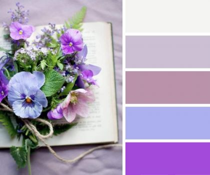 A Bouquet on a Book