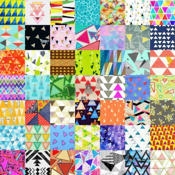PATCHWORK TRIANGLES 25