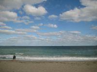 Burgas Coast Beach / Black Sea , Bulgaria
