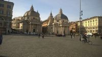 Twin Churches, Piazza del Popolo, Rome