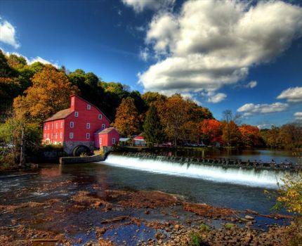 Clinton Red Mill, New Jersey..