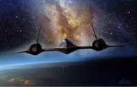 SR-71 flying on the edge of space