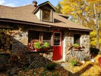 Cottage with Red Door