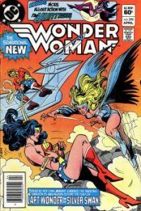 Wonder Woman Versus Captain Wonder and Silver Swan