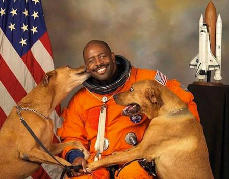 For The Fourth - An Astronaut And His Dogs