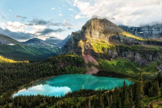 Grinnell Lake, Glacier National Park
