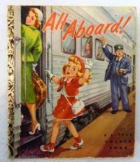 Themes Vintage illustrations/pictures - All Aboard! Book Cover