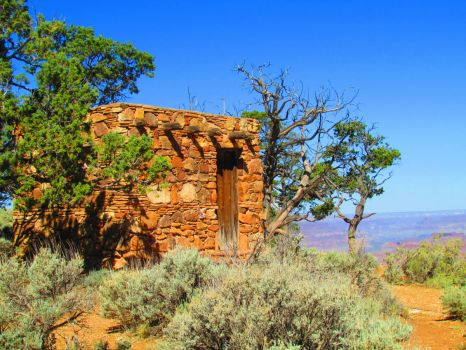 Desert Watchtower Area, Grand Canyon