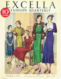 Excella Fashion Quarterly from Fall 1932