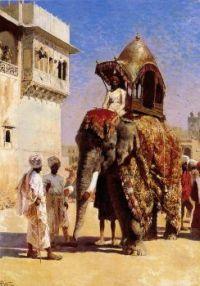 The Mogul's Elephant, Edwin Lord Weeks