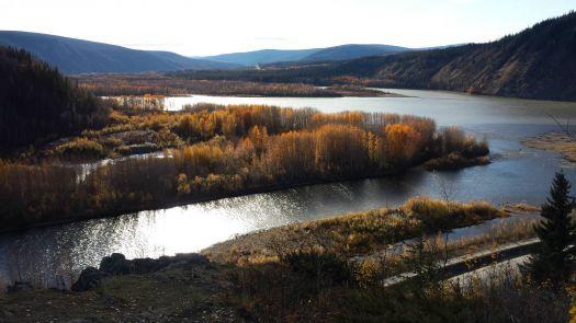 Confluence of the Yukon and Klonkike Rivers - Dawson City, Yukon