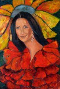 Happy in Red- Krystyna Ruminkiewicz.