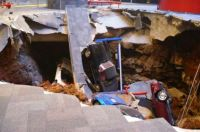 Now, this is a huge sink hole