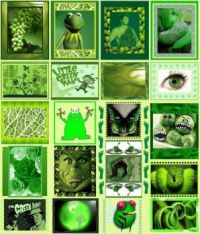 What's Big and Green and Goes on Forever? This Puzzle!