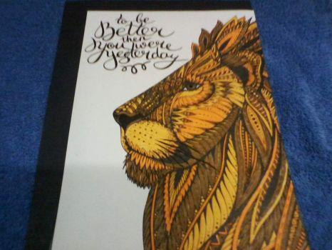 Lion Coloring Sheet