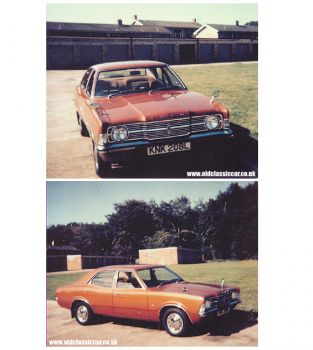 Mk3 Cortina had one this color