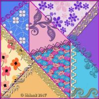 Crazy Patchwork with Guipure Lace and Braids
