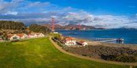 Crissy Field and Golden Gate Bridge