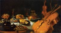 Pieter Claesz--Still Life with Musical Instruments, 1623