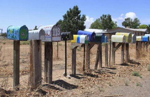 THEME:  Mailboxes & Outhouses . . . Rural 4