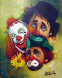 Three Faces of the Clown