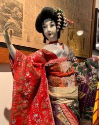 Japanese Doll at the Panama Hotel, Seattle, Washington
