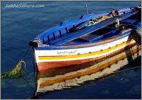 Fishing boat at rest, Tunisia