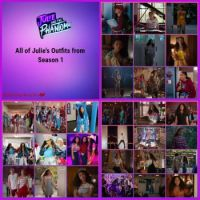 All Julie's Outfits Season 1 Collage