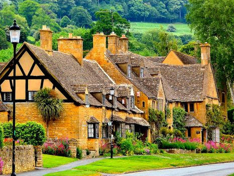 Rural English Houses