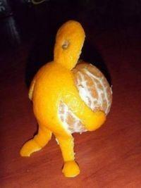 An orange...