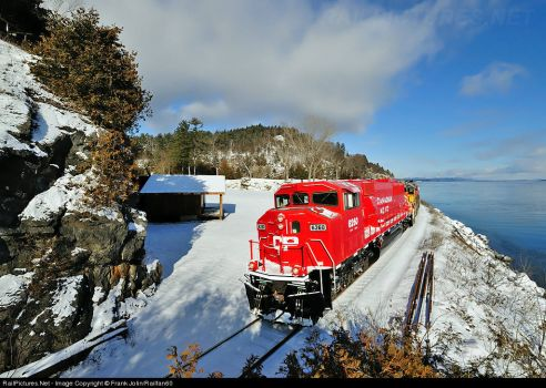 116-New York, Port Henry-Canadian Pacific