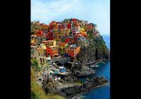Cliffside Homes in Riomaggiore, Italy