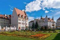 City Center, Nysa, Poland