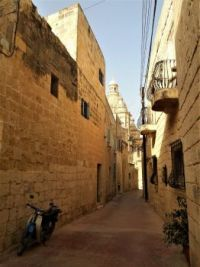One Of The Narrow Streets of Siġġiewi, Malta