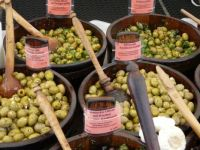 Olives at Munich market