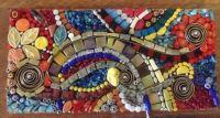 Mixed Media Abstract Mosaic